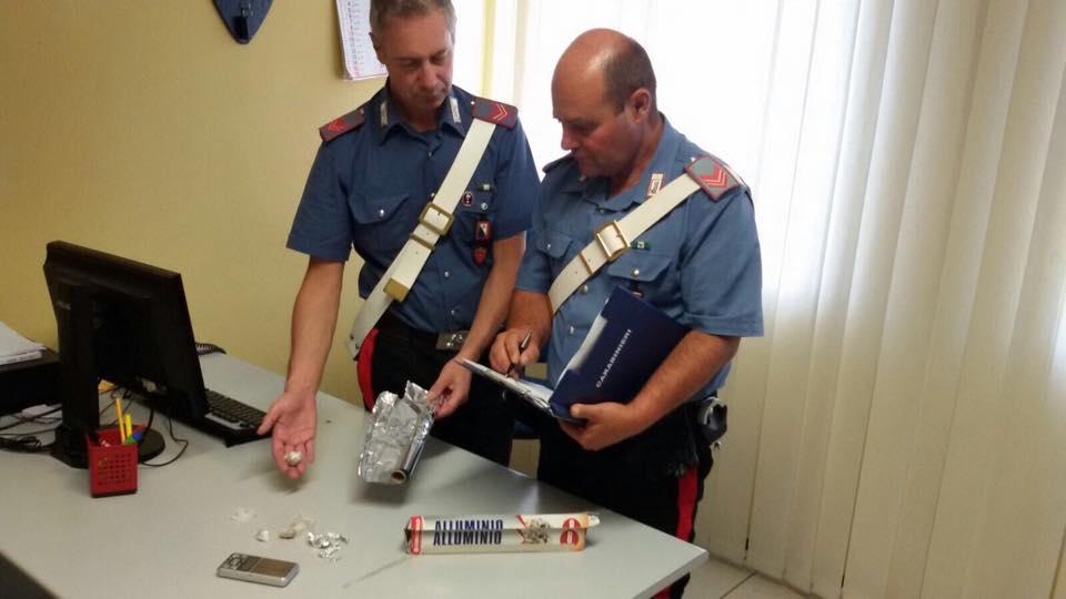 Trovato a Malbacco con 15 grammi di eroina. Arrestato pusher