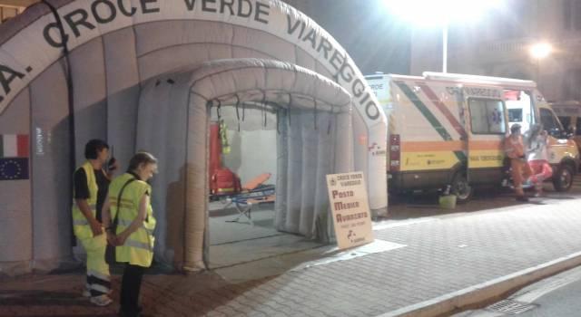 Al Carnevale estivo un punto di primo soccorso di Croce Verde e 118