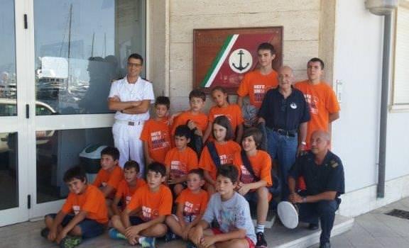 Visita alla Capitaneria di Porto per i ragazzi dei campi scuola