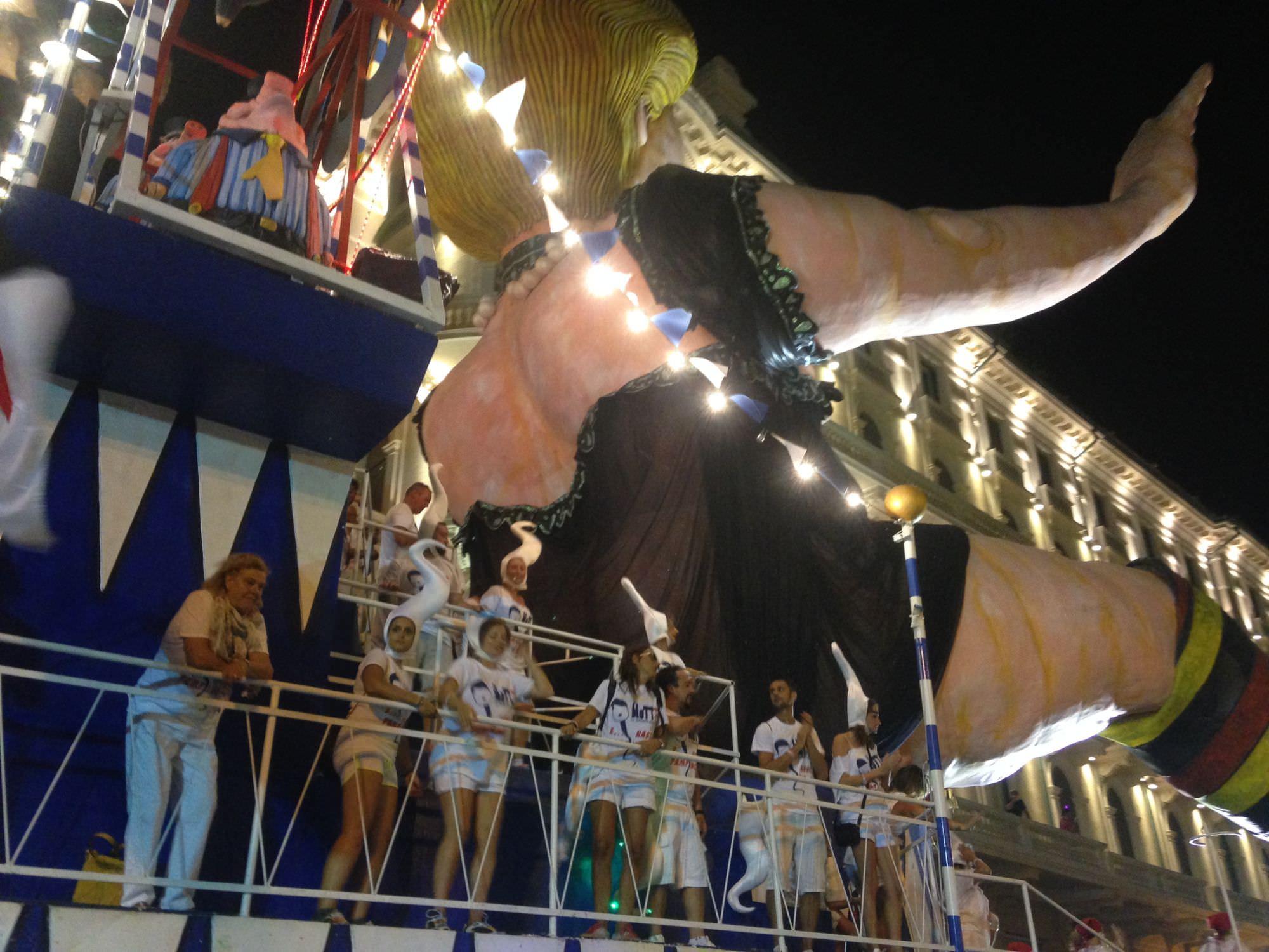 A Viareggio niente Carnevale estivo nel 2016