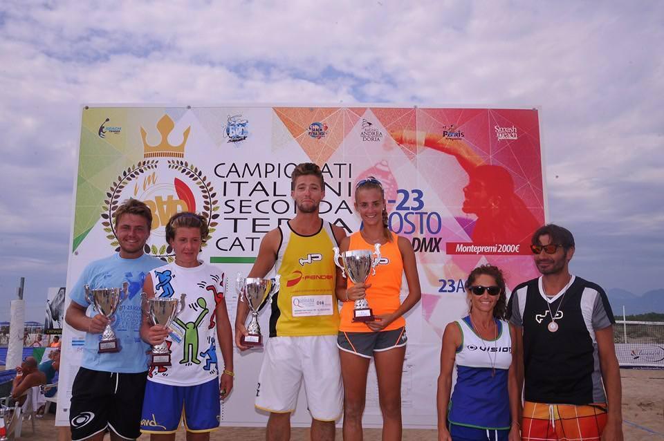 Campionati italiani di beach tennis di seconda e terza categoria, i risultati