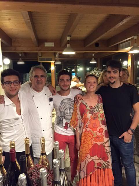 """""""Il Volo"""" a cena al ristorante """"Basilico fresco"""" di Torre del Lago"""