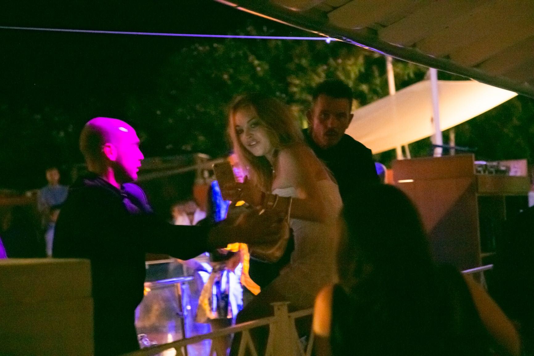 Serata al Twiga per la star americana Lindsay Lohan