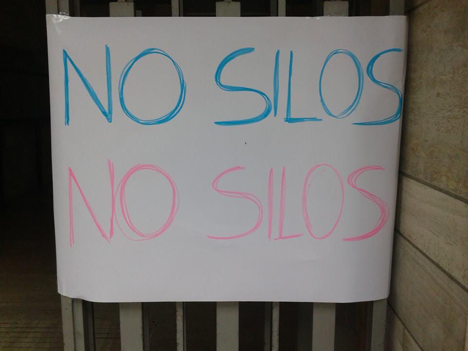 """No Silos: """"Del Ghingaro ha fermato il nostro presidio in Comune"""""""