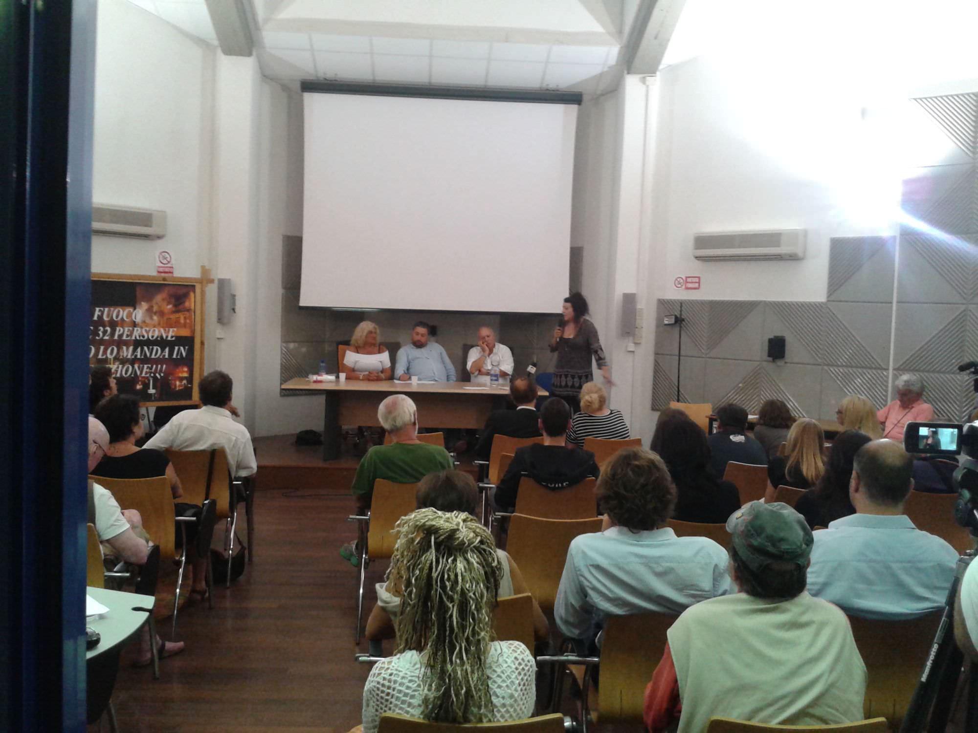 Cira Antignano e Guido Magherini insieme a Viareggio per chiedere giustizia e verità