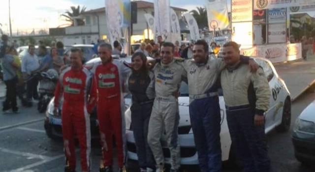 Bertolozzi e Ragghianti terzi al Rally di Camaiore