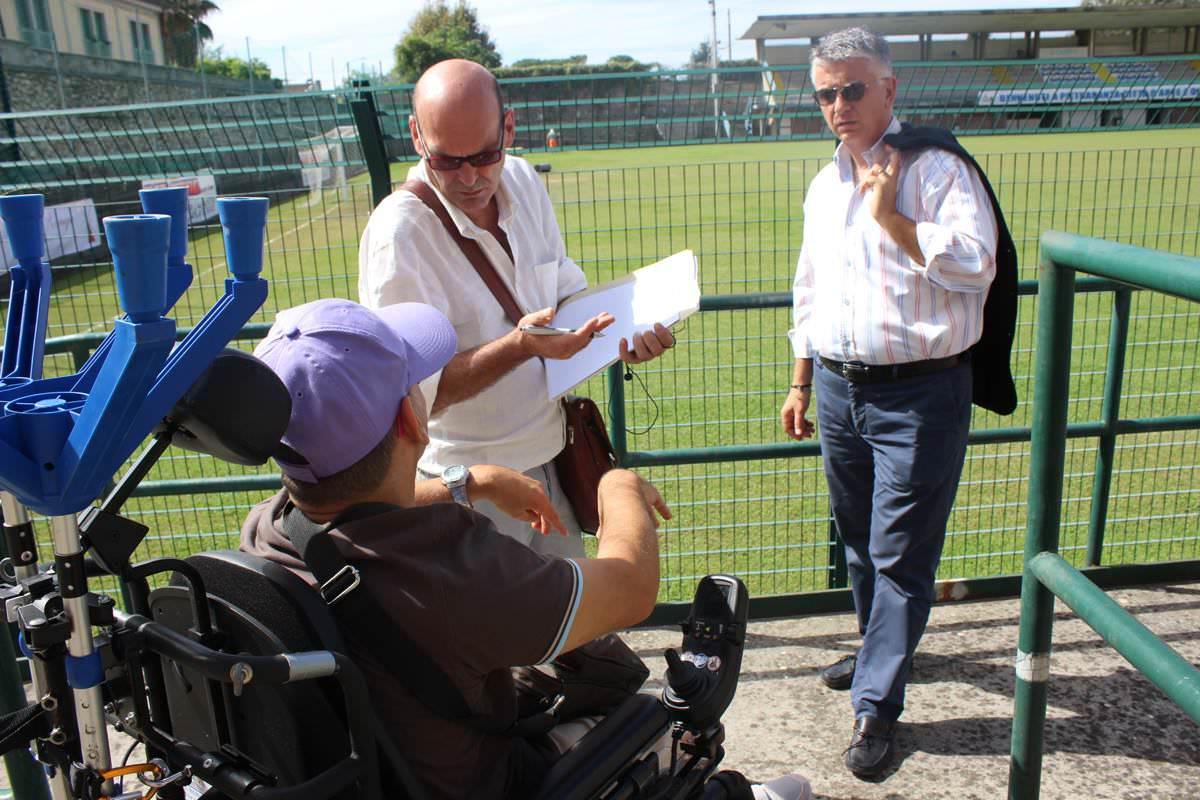 """""""Pietrasanta a misura di tutti, anche dei disabili. Abbattere le barriere architettoniche"""""""