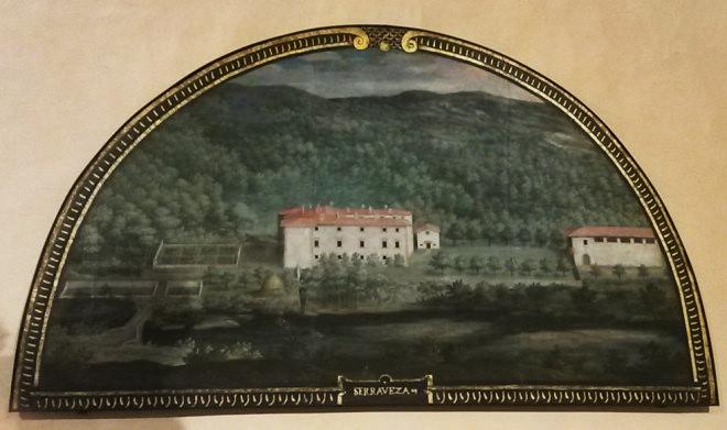 Le lunette di Palazzo Mediceo. A Spasso con Galatea