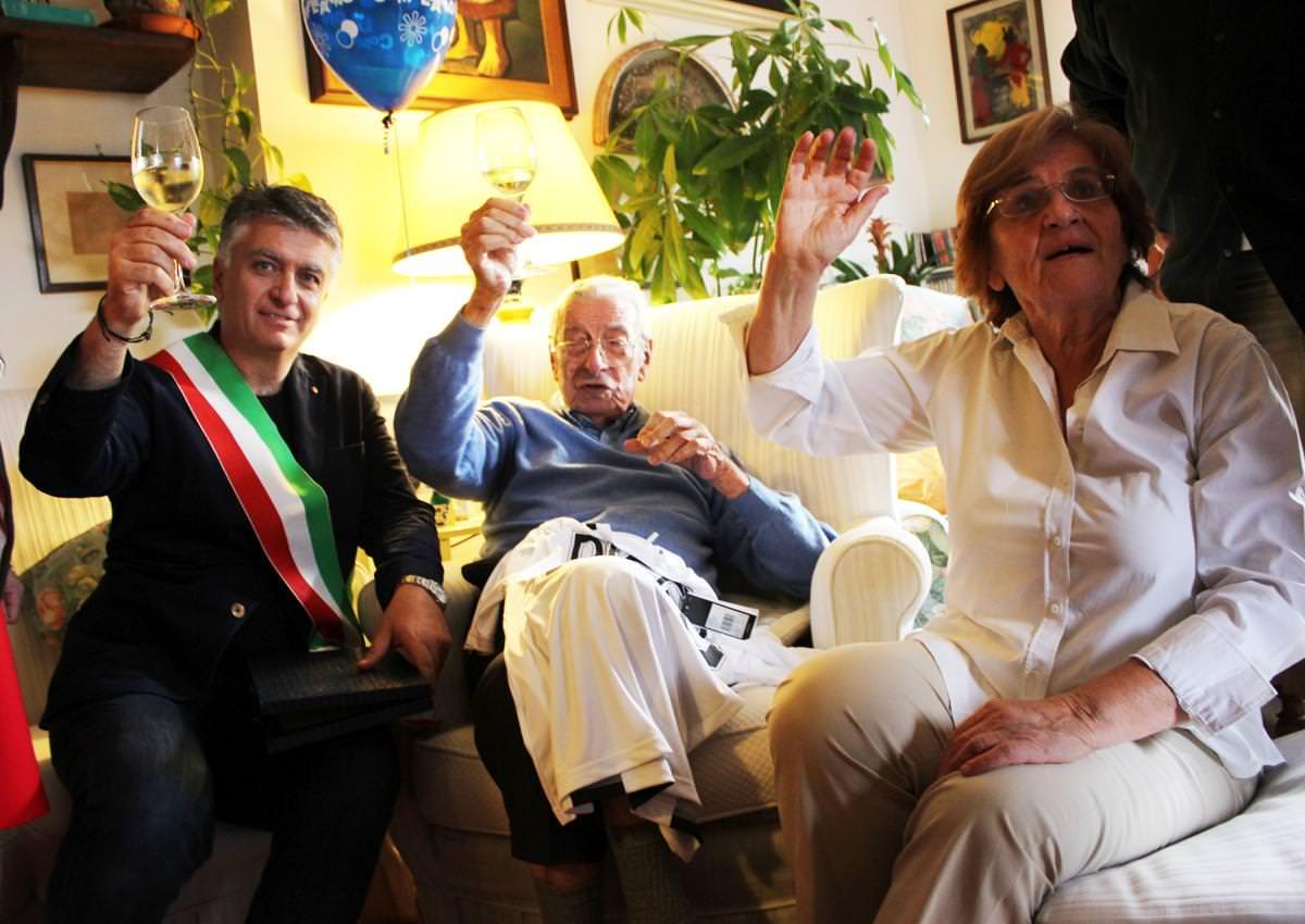 I cento anni di Diego Lucaldo Luconi, una vita avventurosa tra Italia