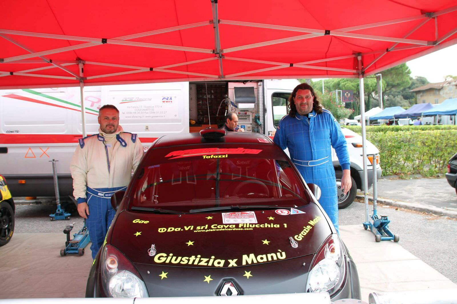 Al Rally di Camaiore ricordando Manuele Iacconi