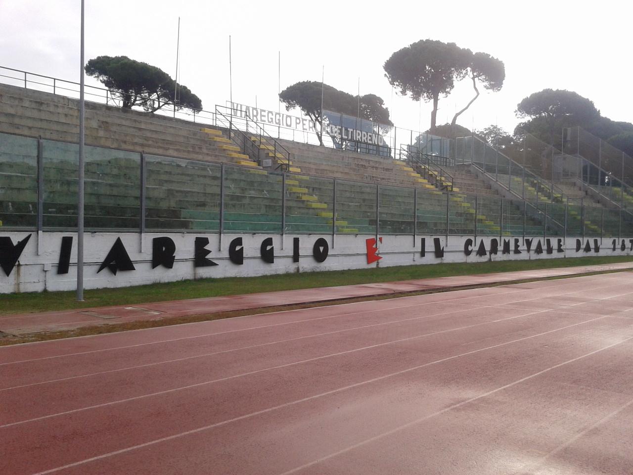 """Del Ghingaro: """"Lo stadio dei Pini è ora a norma"""""""