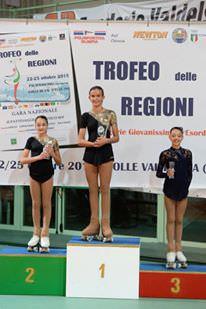 Vittoria Benedetti porta in trionfo la Angel's Skate