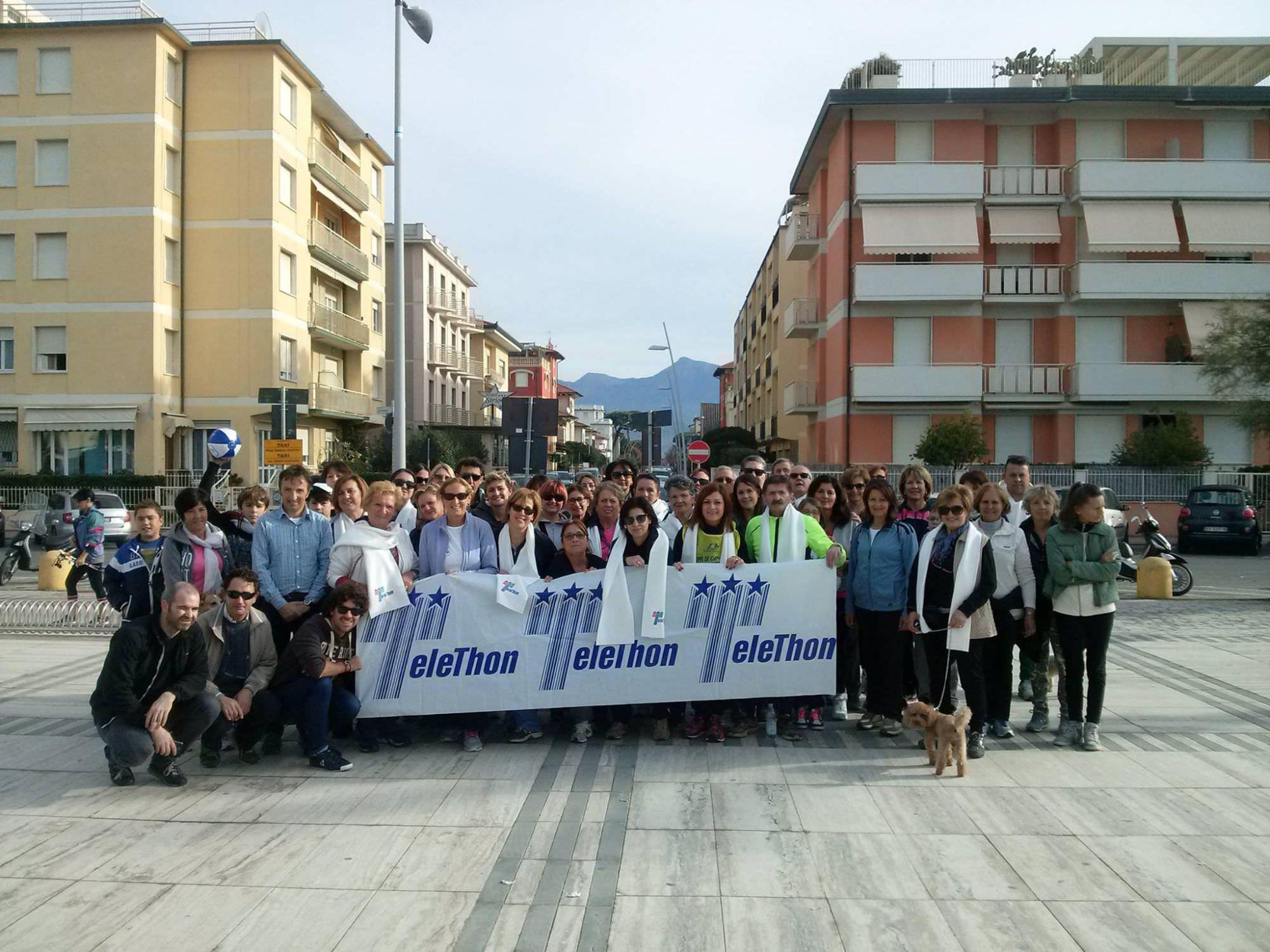 700 euro raccolti per Telethon