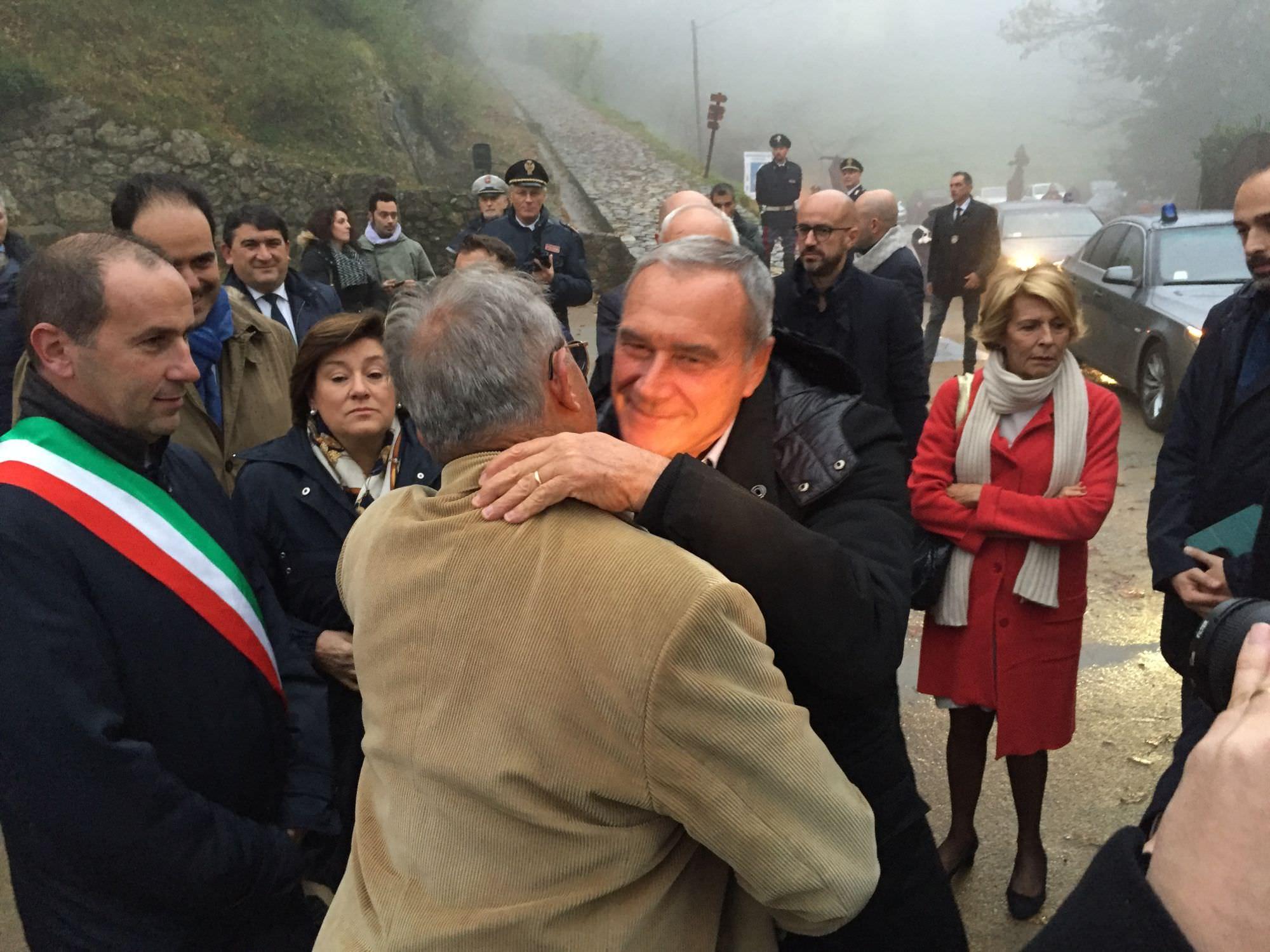 Il Presidente del Senato Grasso alla cerimonia finale del Premio Franco Giustolisi