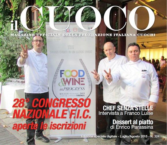 Nuovo riconoscimento per lo chef massarosese Franco Mariani