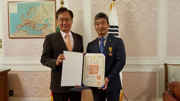 Per Eun Sun Park l'Ordine di Merito Civile della Corea