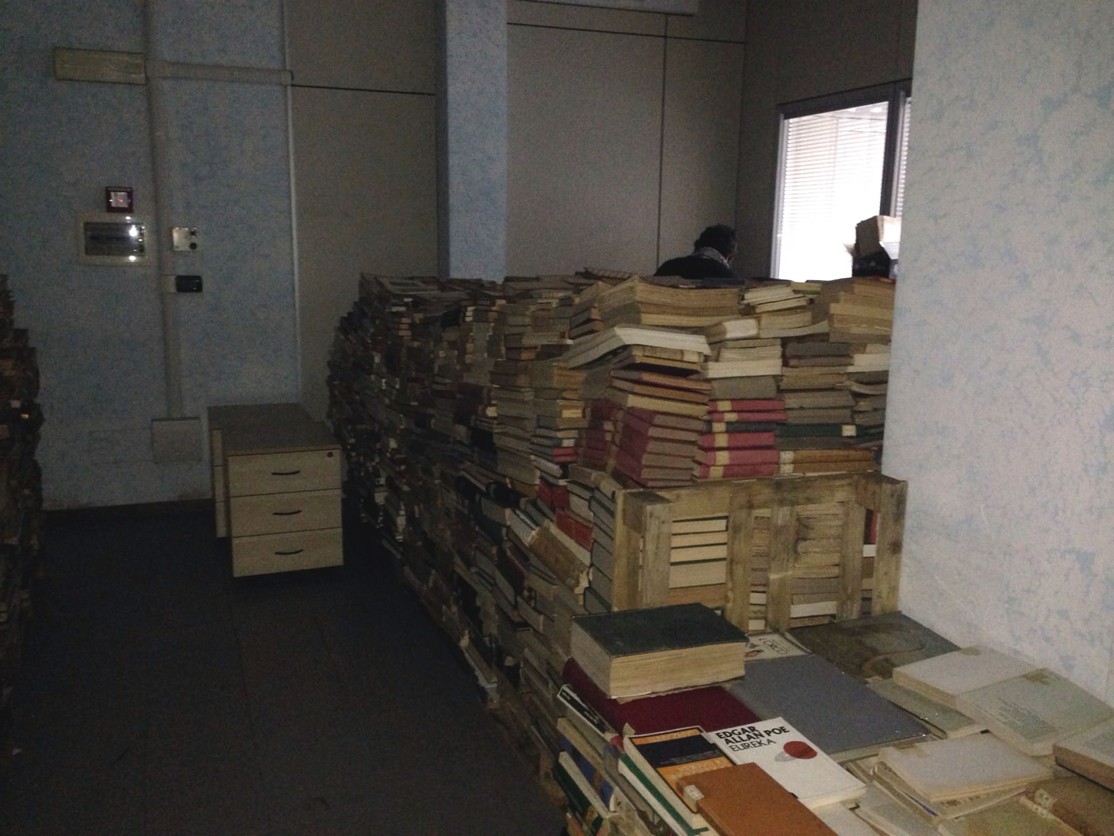 """""""Quando verranno riportati i libri alla biblioteca di Viareggio?"""""""