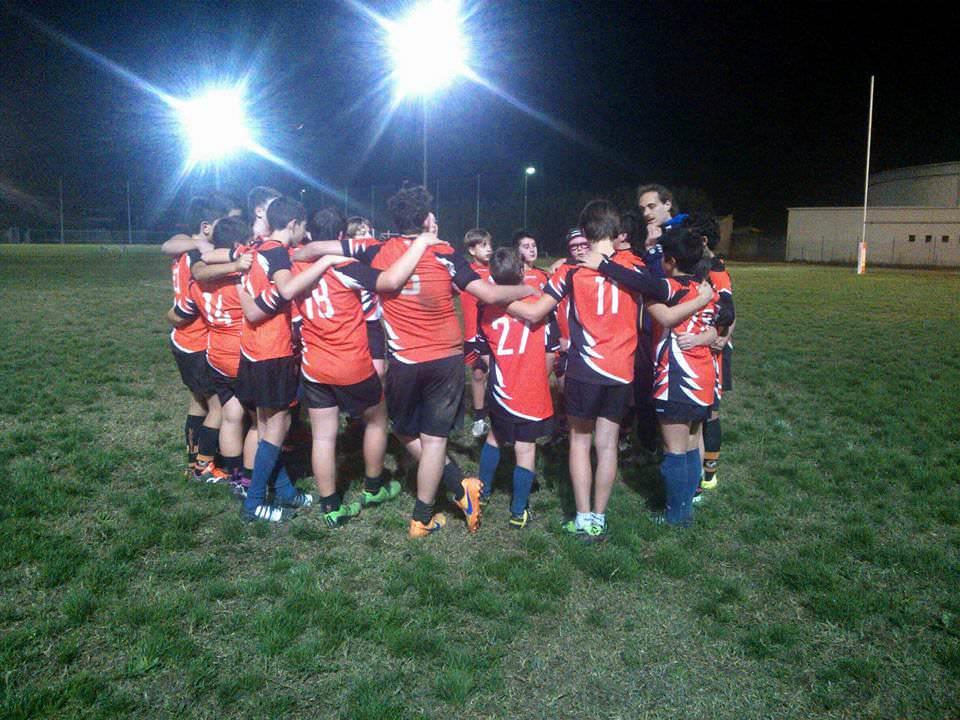 Pesante ko per l'Under 14 del Rugby Union Versilia