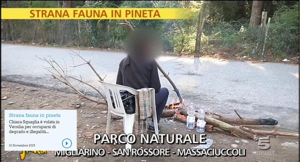 """""""Ci voleva Striscia per mostrare i problemi scandalosi del Parco?"""""""
