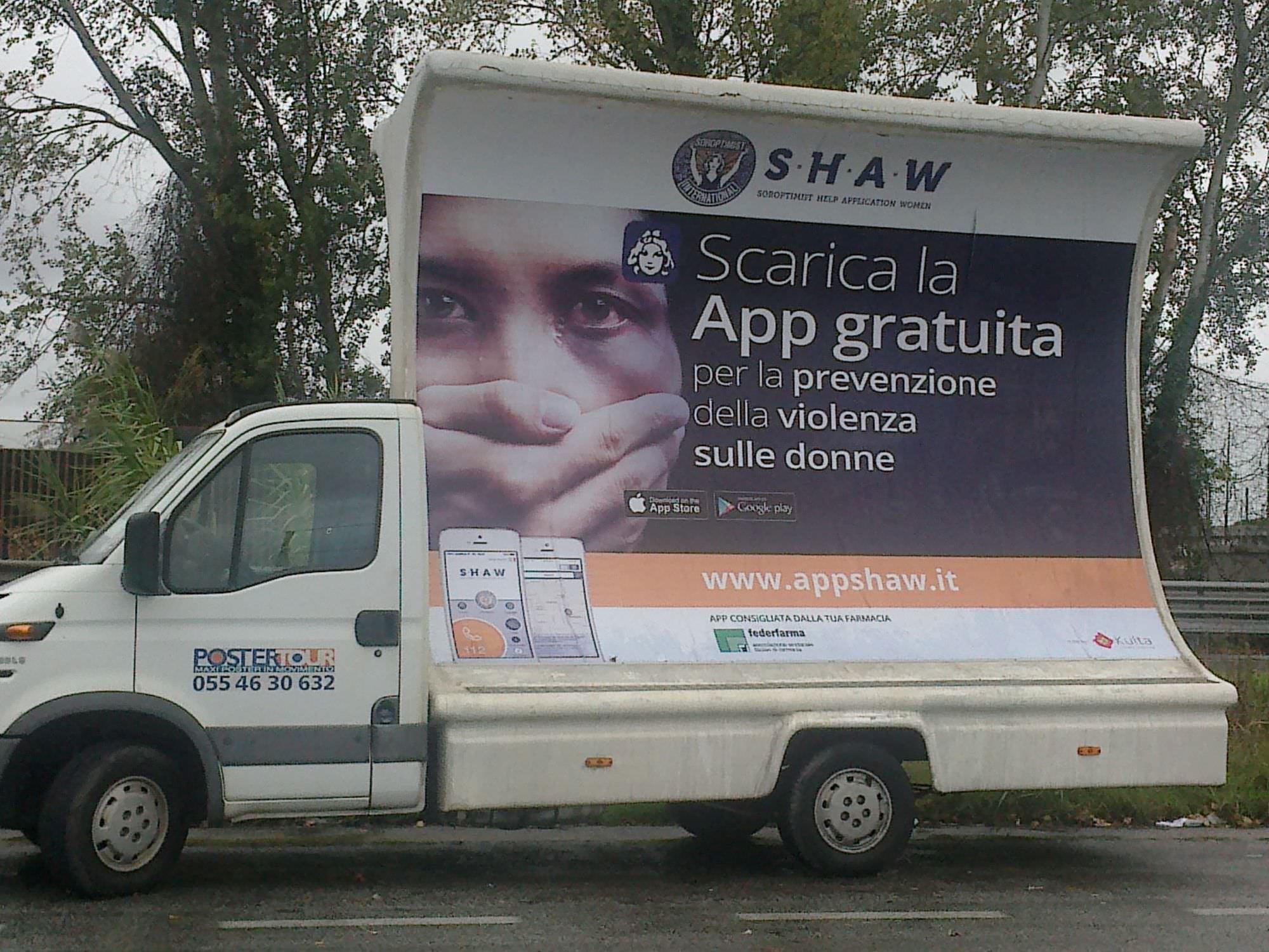 Shaw, una app per la sicurezza delle donne