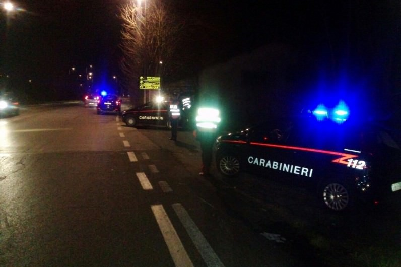 foto Carabinieri Viareggio