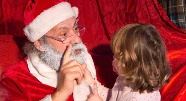Babbo Natale arriva alla Guess