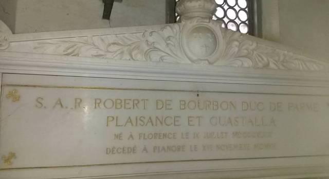 La cappella-mausoleo di Villa Borbone
