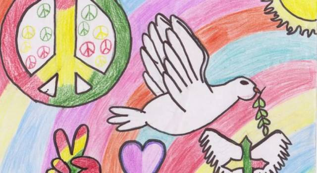 """Premiazione del concorso """"I colori della pace"""""""