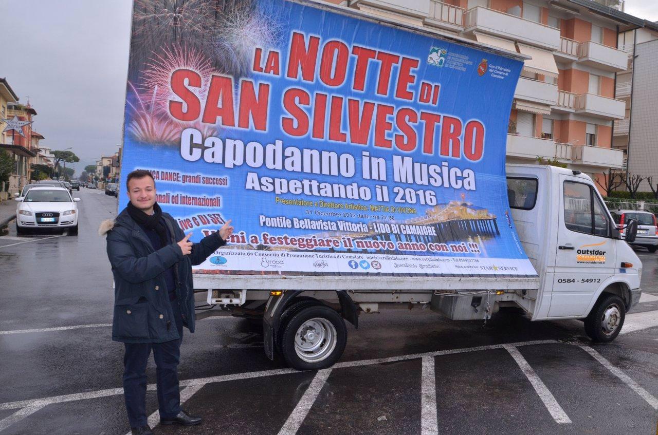 Musica e danze per la notte di San Silvestro a Lido di Camaiore