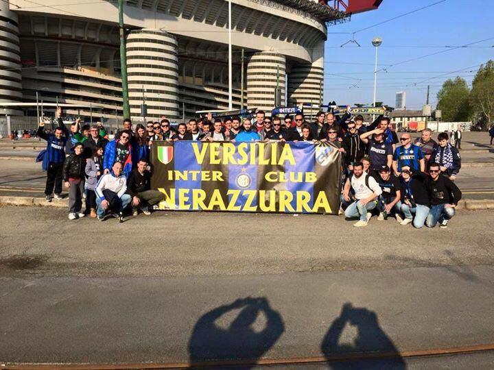 A San Siro con l'Inter Club Versilia Nerazzurra