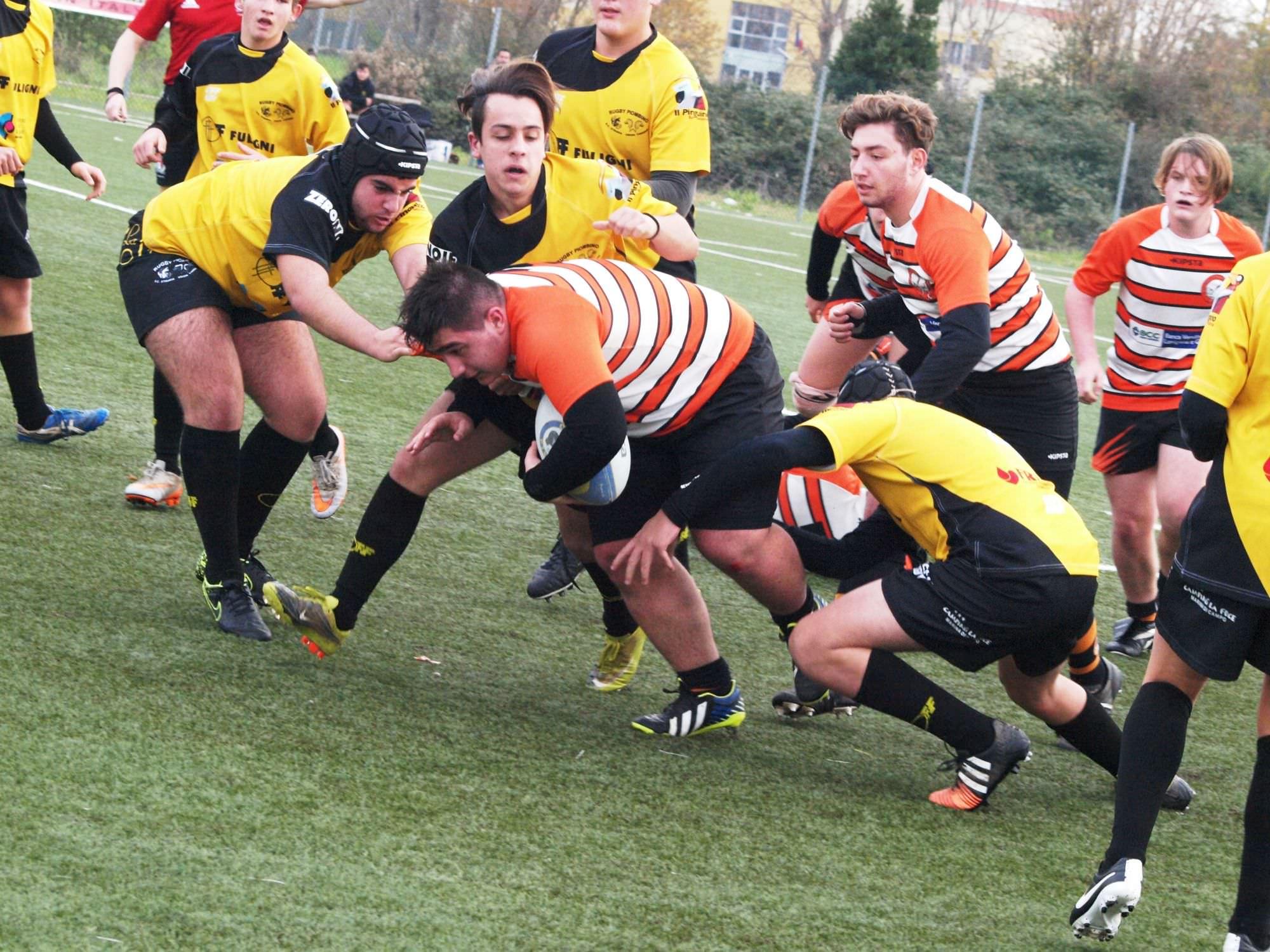 Successo netto per l'Under 16 del Rugby Union Versilia