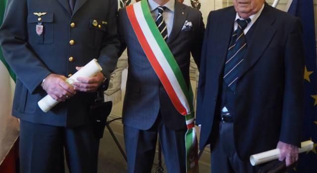Fimiani e Marchetti insigniti della Civica Benemerenza del Comune di Camaiore