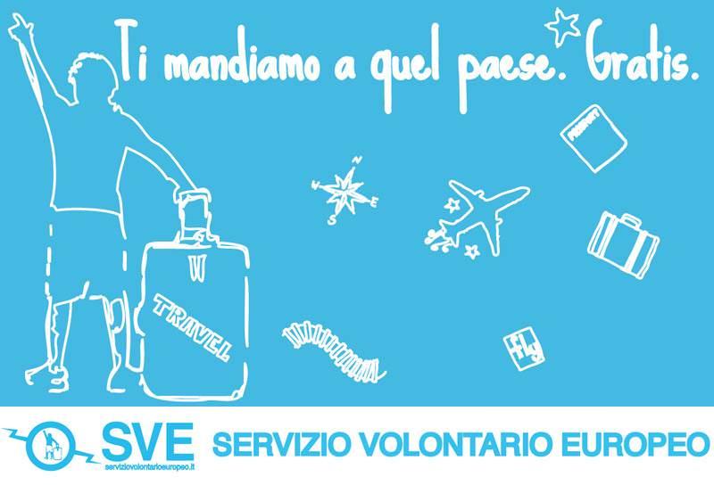 Gratis a quel Paese. Con Aforisma opportunità all'estero con il Servizio Volontario Europeo