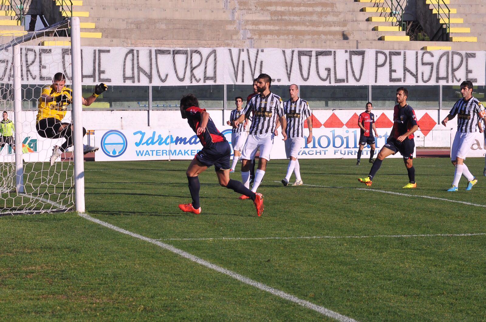 Gubbio-Viareggio si gioca a Città di Castello senza pubblico