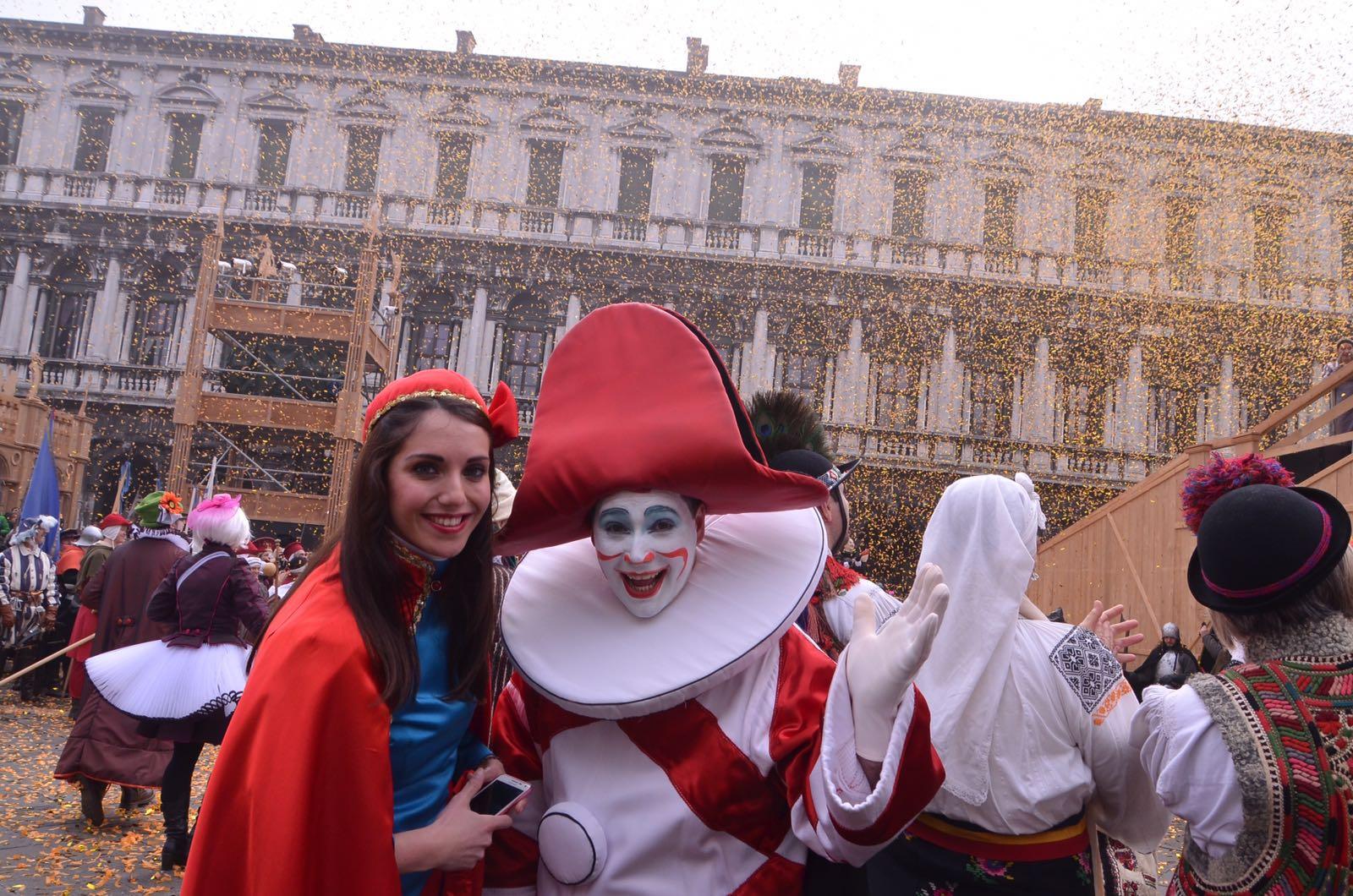 Burlamacco e Ondina in trasferta a Venezia