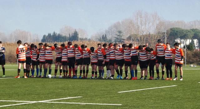 Vittoria sofferta per l'Under 16 del Rugby Union Versilia