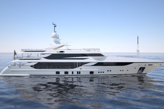 yacht benetti  50 METRI FB802 M/Y BREEZE