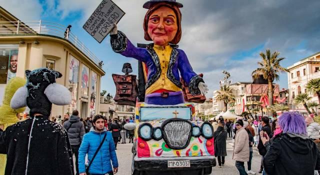 Dalla Ciociaria al Carnevale di Viareggio