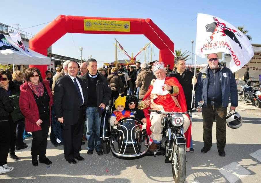 A Viareggio il 27° Motoraduno di Carnevale
