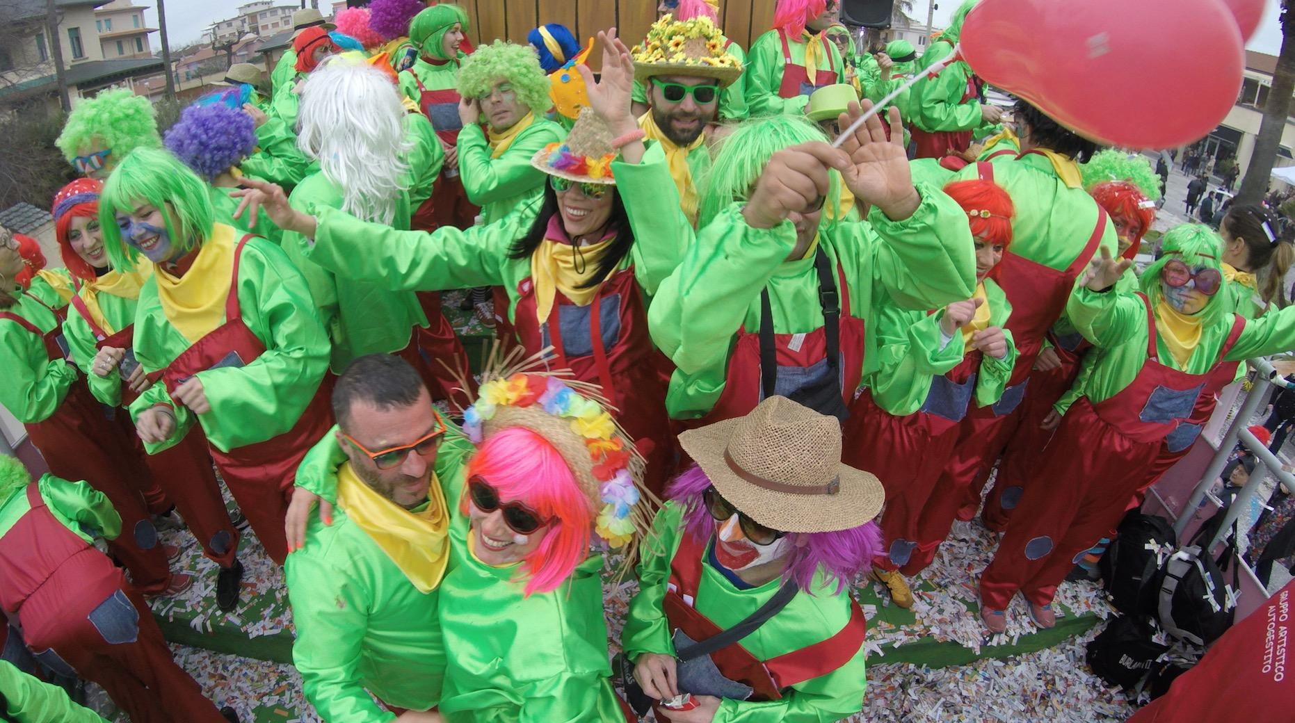 Il folle Carnevale dei Burlamatti in video