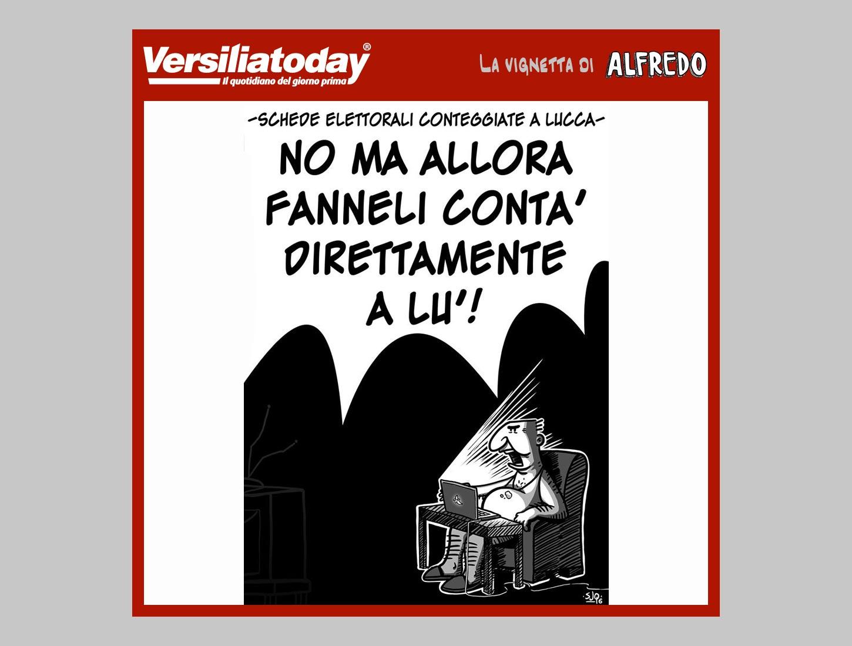 La vignetta di Alfredo