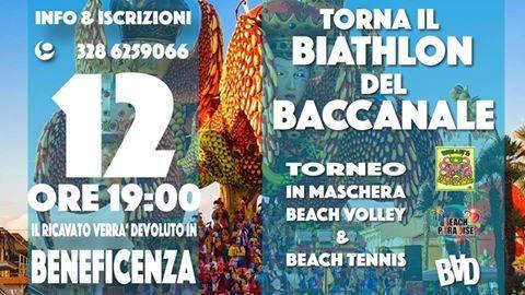 Beach tennis e beach volley per beneficenza