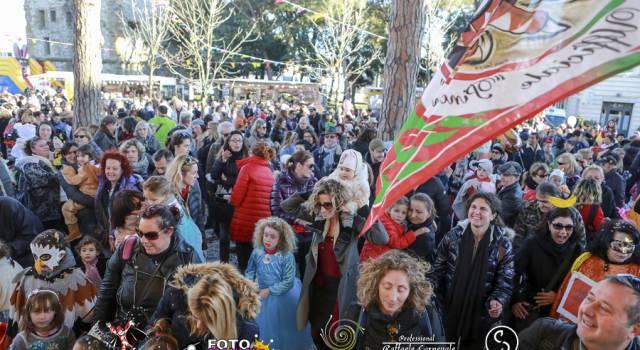 Boom di presenze per il Carnevale dei piccoli