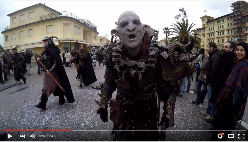 Carnevale di Viareggio, il video
