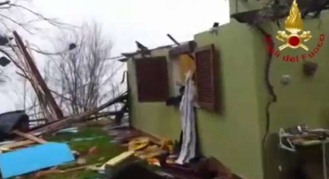 Abitazione esplode a Barga: il video