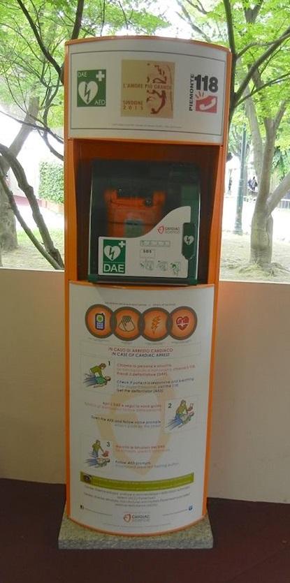 Rete capillare di defibrillatori al Forte