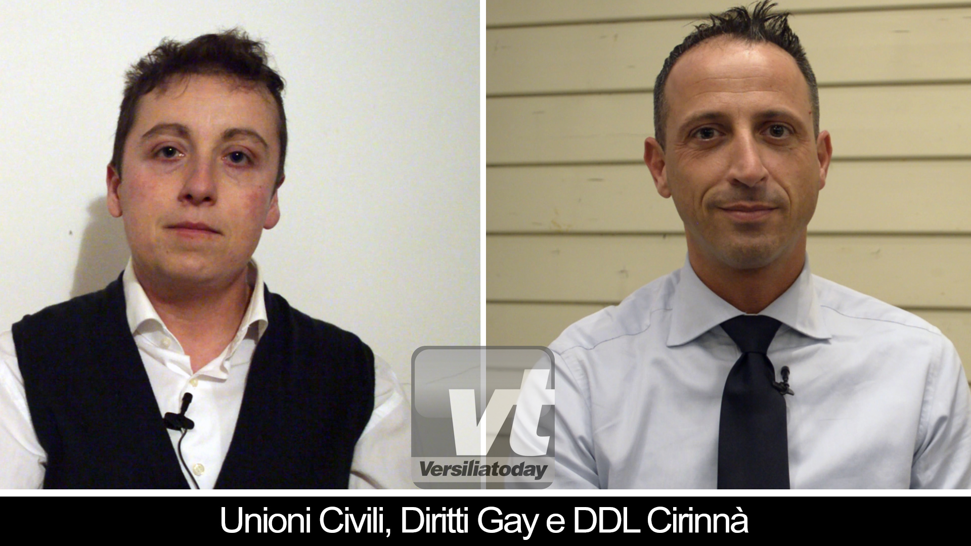 Unioni civili, favorevoli o contrari? L'intervista doppia di Vt