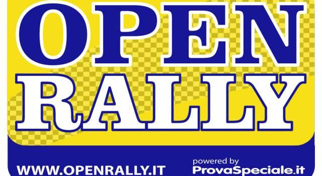 Prende forma l'Open Rally