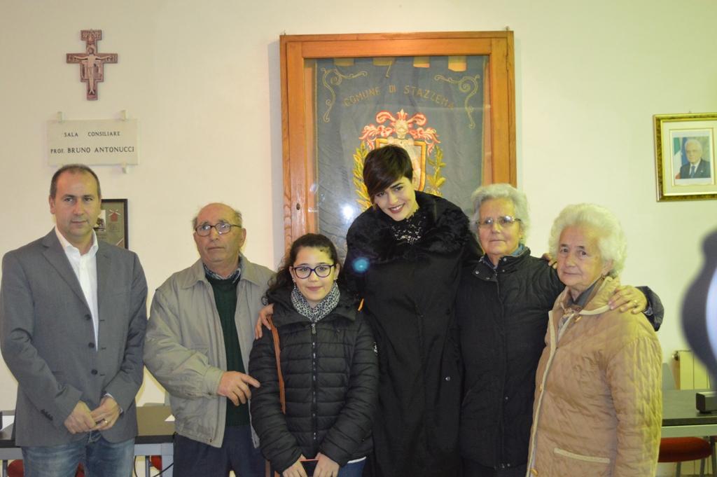Miss Italia incontra (di nuovo) i superstiti di Sant'Anna