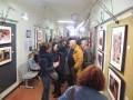 Grande successo per l'inaugurazione della mostra Mingalabar